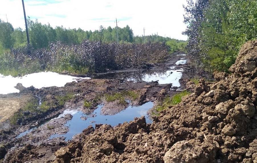 Утечка на МН Сургут-Полоцк в Свердловской области